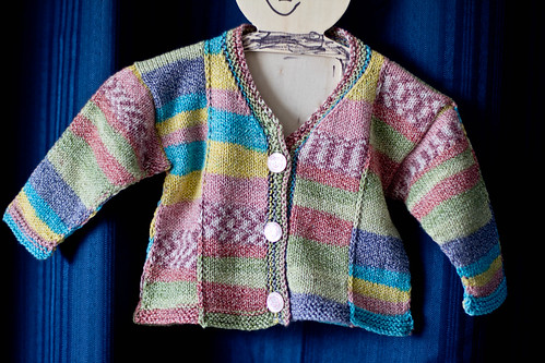 Cute Patches Baby Sweater