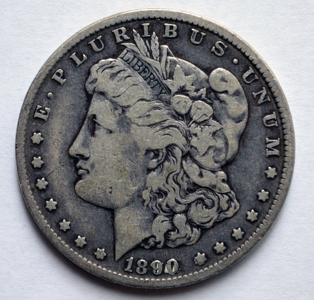 1890 Morgan Dollar Coin