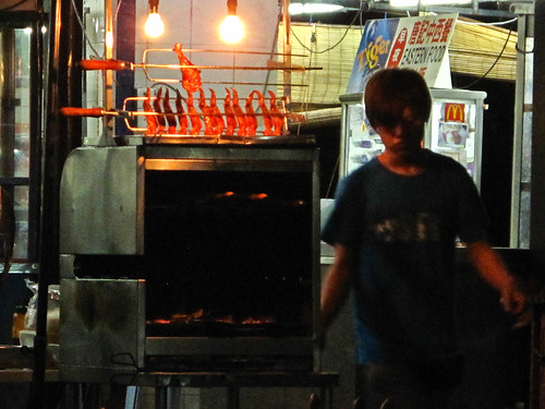 IMG_0181 Selling grilled chicken wings, 卖烤鸡翅膀