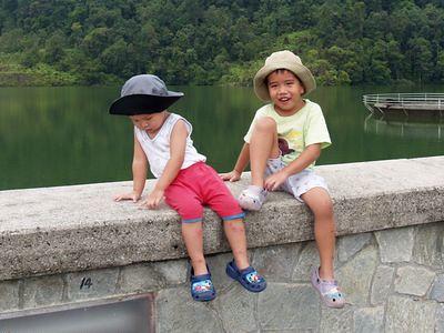 Ayer Itam Dam wall