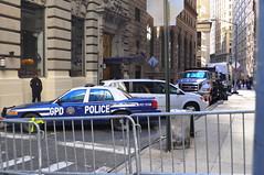 Meanwhile in Gotham City. . . (Triborough) Tags: nyc newyorkcity ny newyork ford manhattan police financialdistrict policecar gotham lowermanhattan crownvictoria gothamcity newyorkcounty rmp gcpd gothamcitypolicedepartment
