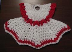 Dress potholder - agarradera de vestido! (Lauris196) Tags: dress cocina vestido potholder agarradera