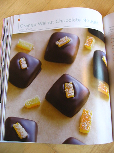 Orange Walnut Choc Nougat