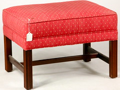 93. Upholstered Foot Stool