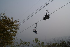 Cable car to reach Xianglu peak