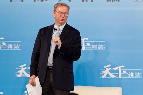 Eric Schmidt施密特02_Google執行董事長_20111109_林衍億攝影