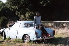 034_34 (lola smalls) Tags: california film 35mm vintage volkswagen minolta kodak 100 tungsten portra eastpaloalto minoltasrt101 expiredfilm lolasmalls
