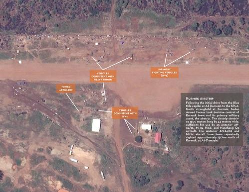 SAF Base at Kurmuk Airstrip