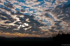 Sunrise (jacobsfrank) Tags: sunset color clouds landscape zonsondergang flickr belgium belgie wolken landschap kleur stjoriswinge