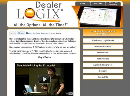 Dealer Logix All the Options, All the Time by totemtoeren
