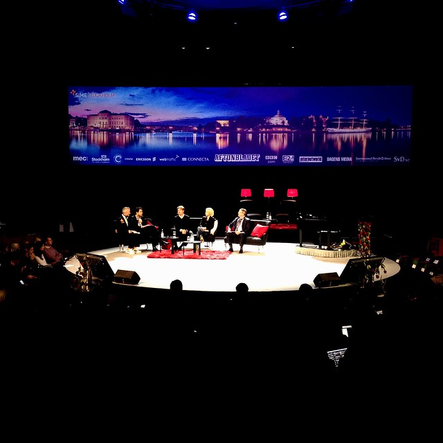 Panel at SIME Stockholm 2011