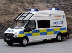 Oxford Diecast 1/76th scale Police Transit (Graham The Modeller) Tags: ford scale police oxford transit van 999 00gauge 00scale