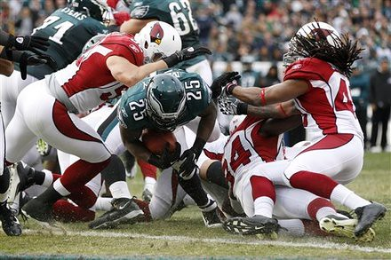 Cardinals Eagles Football