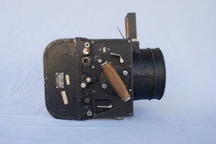 F-56 Aerial Camera with 8-inch cone (sn 43-158)  n  10 (heritagefutures) Tags: camera usa film magazine lens photo cone air aerial f56 fairchild lomb seriesi 7x7 reconnaissance baush altimar 814inch
