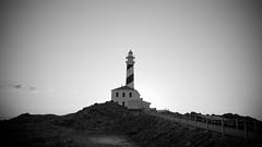 Far de Favrix (Jordi Domenech) Tags: sea lighthouse faro mar wb bn far menorca lighthousetrek favrix