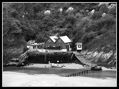 The Gannel Estuary Boat Shed (bluecrush1979) Tags: old england boat cornwall shed newquay estuary gannel