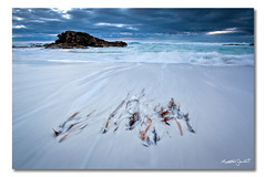 Friendly Beaches (iii), Tasmania, Australia (Matthew Stewart | Photographer) Tags: ocean light sea sky white seascape seaweed beach water clouds sunrise landscape movement sand matthew australia stewart kelp tasmania peninsula freycinet friendlybeaches