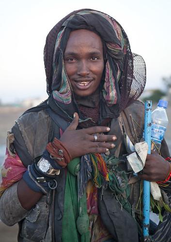 Ethiopian tramp in Berbera - Somaliland