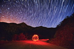 Whirled Whipple Observatory (Fort Photo) Tags: arizona lightpainting nature night stars landscape star trails az science astro observatory astrophotography astronomy startrails starrynight polaris northstar circumpolar asronomy mounthopkins fredlawrencewhippleobservatory whippleobservatory 2012a