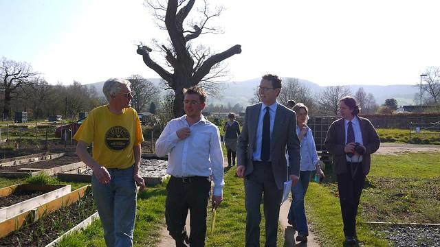 Greg Barker's regional visit to Wales