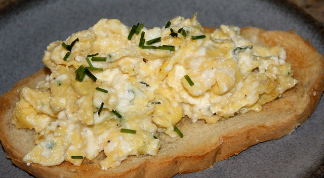 Ricotta Scrambled Eggs