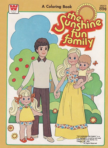 Sunshine Family Coloring Book