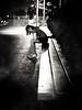 frozen minipimp (pimpdisclosure) Tags: bw night bench cowboy pimp minipimp pimpexposure thehatchronicles pimpdisclosure