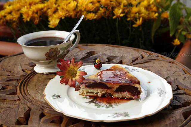 immagine foto dessert orzo perlato prugne susine