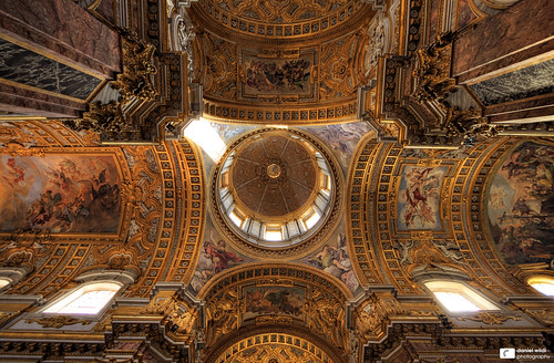 italien italy rome roma church gold golden basilica ngc... (Photo: Daniel Wildi Photography on Flickr)