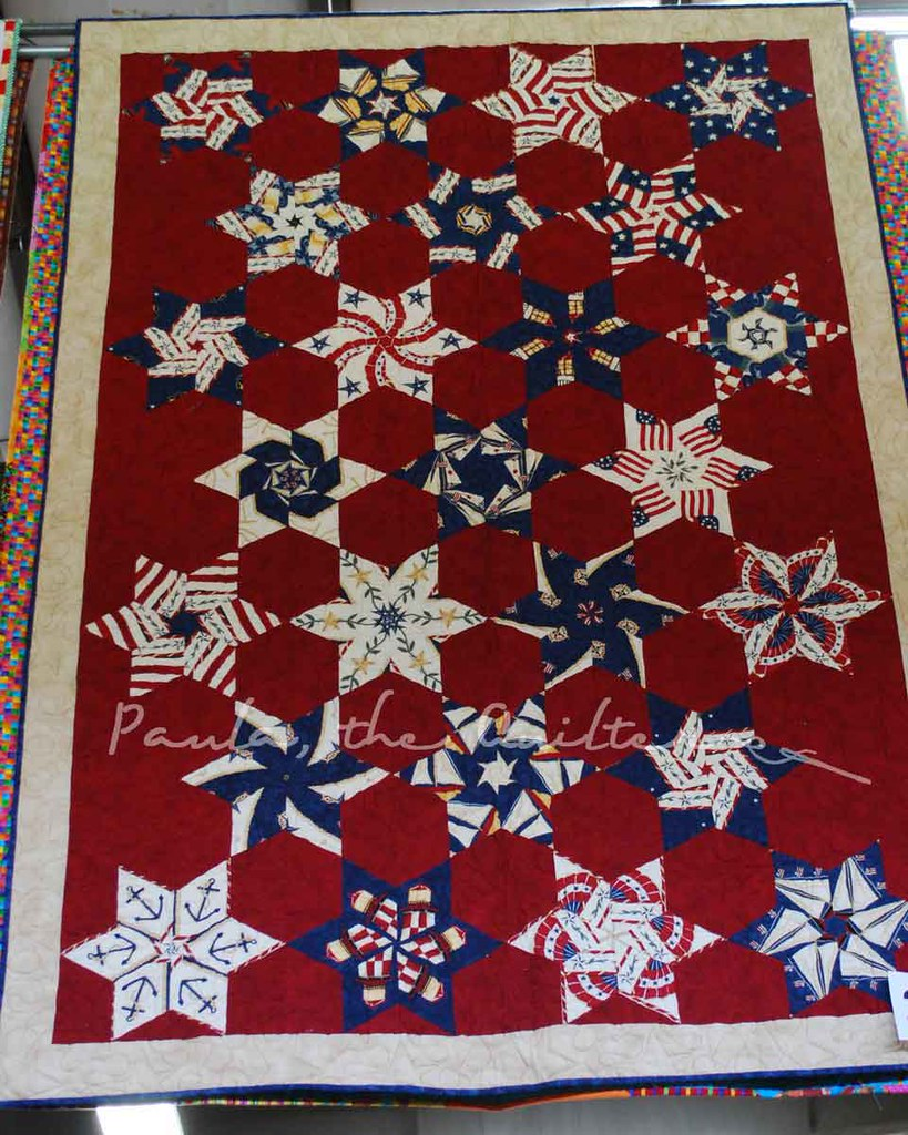 RWB Kaleidoscope Stars - Delma Oberbeck