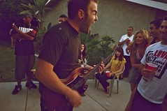 Dose of Adolescence (Peter Fuchs) Tags: california party music usa ontario garden concert angle live sony band sigma alpha 55 1020mm ultrawide 2011 dslt doseofadolescence