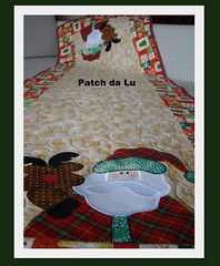 Trilho Natal (Patch da Lu) Tags: quilt patchwork rena trilhodemesanatal caminhodemesanatal aplicaopapainoel