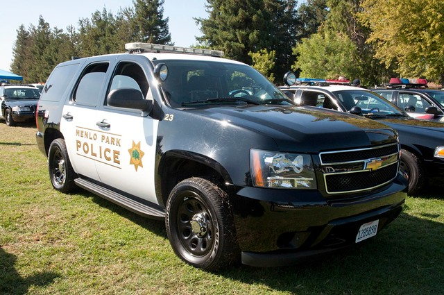california usa policecar ripon sanjoaquincounty chevytahoe mppd menloparkpolicedepartment riponmenloparkemergencyvehicleshow2011