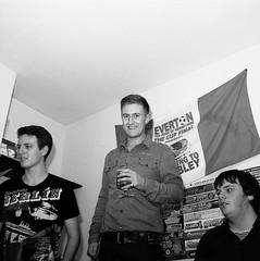 Jamie. (MDMA.) Tags: friends party portrait england house 6x6 film analog liverpool 35mm vintage square nikon fuji frat epson fujifilm analogue v300 acros f801s sb15