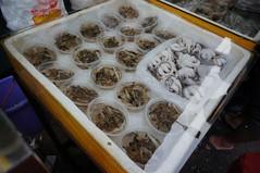 seafood in bowls (qlin zhang) Tags: street old city market xiamen marketplace  datong nex  nex5n