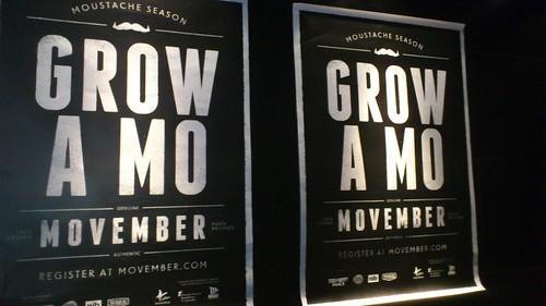 Movember Launch