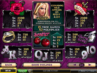 Spiele Cherry Love - Video Slots Online