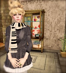 ...Duboo for the Seasons Hunt  (lindini2) Tags: home hair necklace dress interior tshirt sl secondlife ys muffler medicinecabinet boon nsd niniko duboo oyakin theseasonshunt