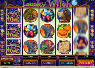 Lucky Witch slot game online review
