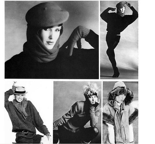1985 Fashion model Kim Acee
