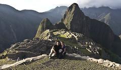 Sunset at Machu Picchu