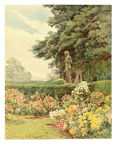017-El Apolo en Balcaskie-Some English gardens 1904- George S. Elgood