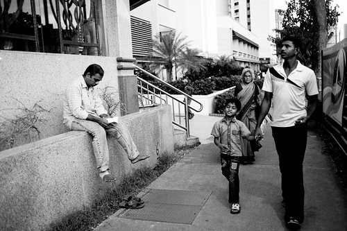 Sunday makes a great family outing too! - Little India, Singapore