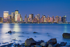 Lower Manhattan from Across the Hudson (RBudhu) Tags: city nyc newyorkcity ny newyork skyline brooklyn manhattan bluesky batterypark gotham newyorknewyork lowermanhattan downtownskyline 7wtc downtownnewyork downtownmanhattan newamsterdam 7worldtradecenter newyorkcityskyline 40wallstreet sevenworldtradecenter oneworldtradecenter