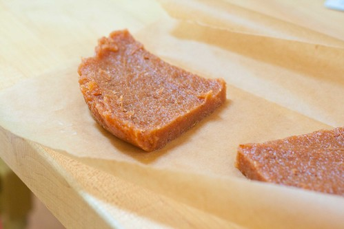 Membrillo paste--sliced