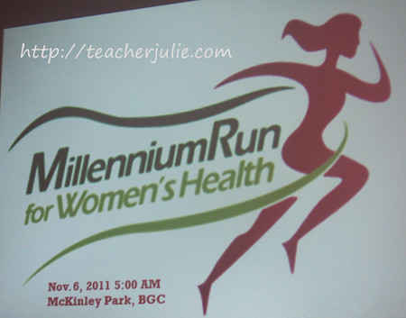 millenium run for women's health