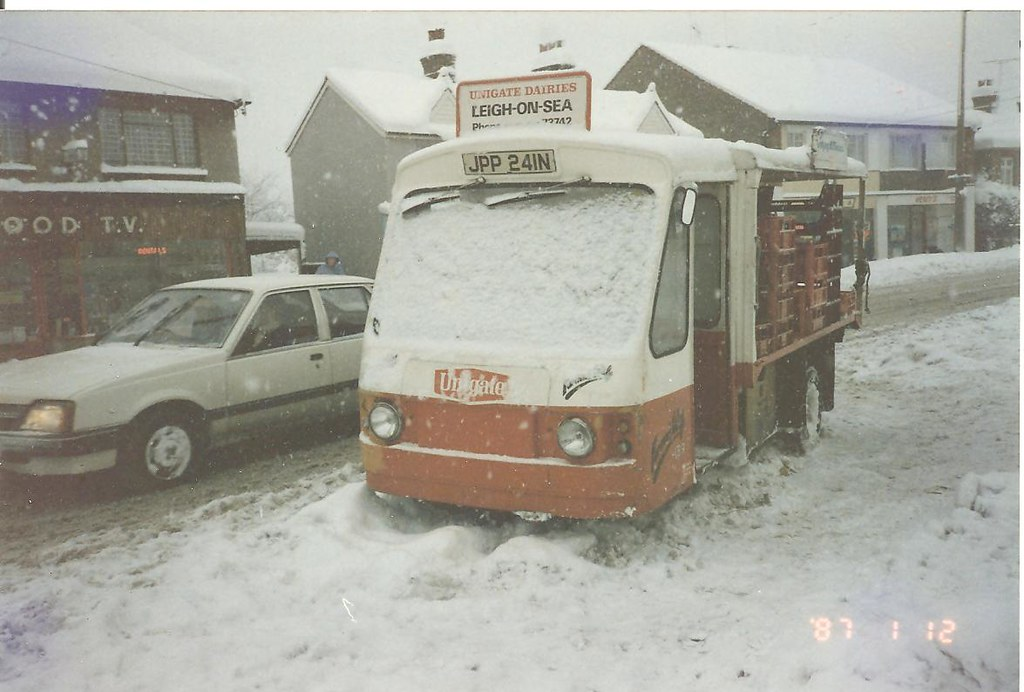 Wales and Edwards Rangemaster milk float