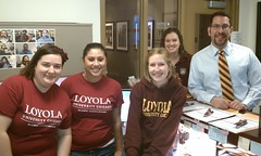 Alumni Relations Staff Prepares for Homecoming
