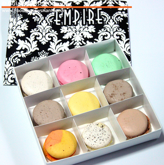 Empire Macarons in box