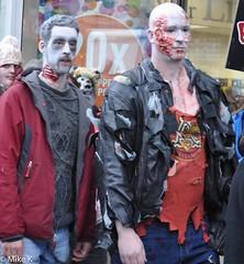 Zombie_Walk_113 (Pardon The Lens) Tags: toronto ontario canada halloween dead scary blood nikon zombie makeup brains gore undead downtowntoronto zombiewalk torontozombiewalk tzw nikond90 102211 zombiewalktoronto braindrive torontozombiewalk2011 oct2211 tzw11 tzw2011